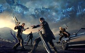Picture Square Enix, Final Fantasy XV, Noctis, XPEC Entertainment