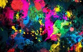 Wallpaper paint, shape, the building, divorce, bright, Paint Background, architecture, color