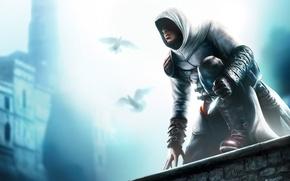 Wallpaper Assassin's Creed, dagger, glow