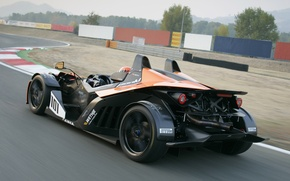 Picture car, KTM, speed, track, X-Bow, GT4