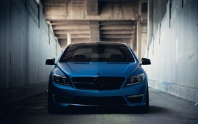 Picture Mercedes-Benz, Auto, Bridge, Tuning, Machine, The tunnel, Wall