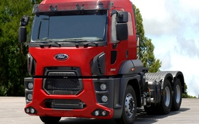Picture ford, truck, cargo