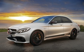 Picture Mercedes-Benz, Mercedes, AMG, C-class, 2015, W205
