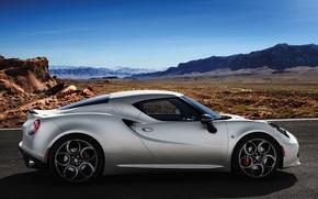 Picture Alfa Romeo, side view, alpha, Romeo, Launch Edition