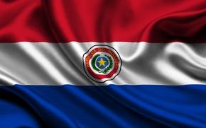 Picture flag, Paraguay, paraguay