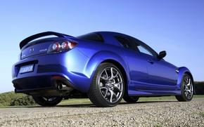 Picture Blue, Machine, Mazda, Machine, Mazda, Car, Car, Cars, Blue, RX-8, Cars, RKH-8