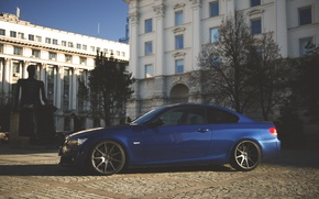 Picture BMW, Tuning, Blue, BMW, Drives, E92, Deep Concave