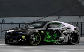 Picture camaro, monster, energy