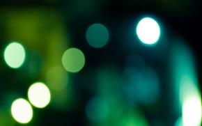Wallpaper circles, Green, background