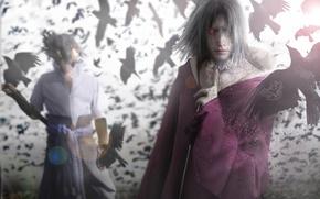 Picture naruto, sharingan, sasuke uchiha, itachi uchiha