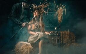 Picture fantasy, tale, art, Rumplestiltskin, Rumpelstiltskin