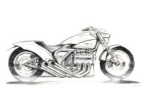 Picture motorcycles, Moto, Honda, moto, motorcycle, motorbike, Rune 2004, Rune, Cruiser - Standard