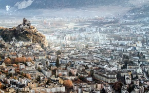 Picture the city, Switzerland, Sion