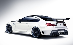 Picture tuning, BMW, BMW, white, white, rear, kit, 6 Series, CLR 6 M, Lumma Design