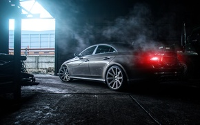 Picture Mercedes-Benz, AMG, CLS 55, rearside