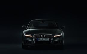 Picture darkness, Audi, lights, Audi, Sportback