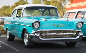 Picture classic, Chevy, the front, 1957