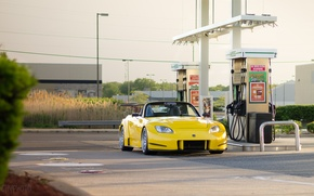 Picture wheels, honda, japan, Honda, jdm, tuning, front, face, stance, s2000, vtec, yelow