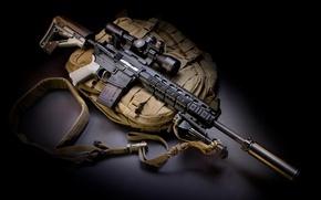 Picture machine, bag, twilight, muffler, upgrade, Larue Tactical