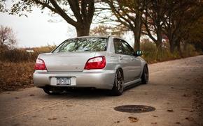 Picture Subaru, Impreza, WRX, rear, Subaru, Impreza