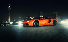 Picture Roadster, Lamborghini, supercar, Aventador, lp700-4