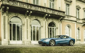 Picture 2015, F12, Ferrari, Blue, based on Ferrari, Carrozzeria, Berlinetta Lusso, Metallic, Touring, photo, berlinetta, Car