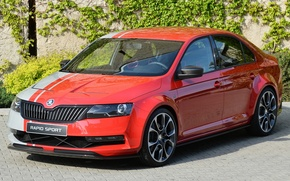 Picture Concept, the concept car, the front, Skoda, Skoda, rapid sport, Rapid Sport