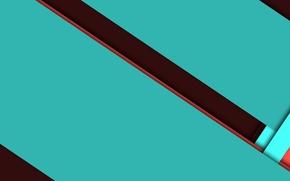 Picture line, design, color, brown, material, jade, dark turquoise, CYANOGEN