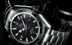 Wallpaper watch, Omega, Planet, Ocean