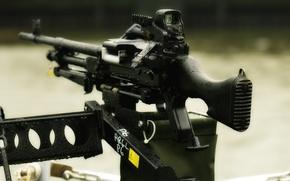Picture weapons, machine gun, M240