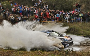 Picture Puddle, Squirt, WRC, Polo, Volkswage