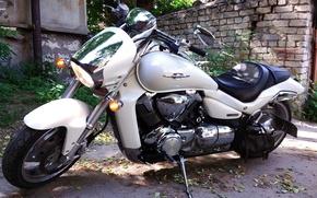 Picture background, motorcycle, suzuki