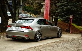 Picture Lexus, wheels, tuning, vossen, IS 350, rearside