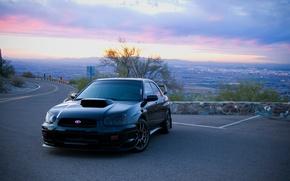 Picture tuning, morning, Subaru