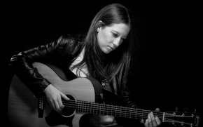 Picture music, guitar, Jenny Colquitt