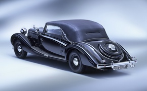 Picture machine, background, Maybach sw 38, cabriolet 02
