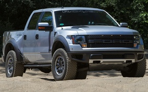Picture auto, Ford, truck, Ford, the front, Raptor, F-150, powerful, SVT Raptor, Roush
