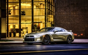 Picture Nissan, GT-R, Nissan, R35, US-spec, 2015, 45th Anniversary Gold Edition