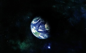 Wallpaper the universe, the globe, planet, space