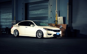 Picture white, wheels, Honda, Accord, Honda, chord, Galpin