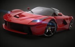 Picture Ferrari, Red, 2014, LaFerrari