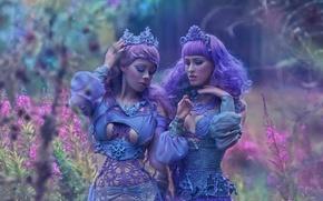 Picture fantasy, girls, art, Ophelia Overdose, Agnieszka Lorek, Sweet fairytale, RYO LOVE