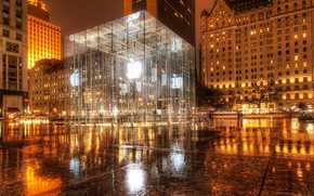 Picture New York, new York, Apple Store