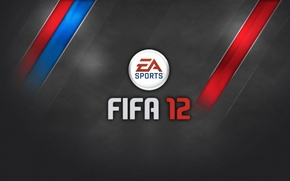 Wallpaper The game, Strip, Football, Logo, Logo, Football, Game, FIFA 12, FIFA 12, EA Sports