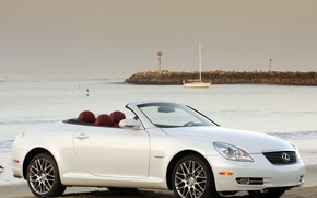 Wallpaper White, Yacht, Convertible