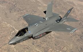 Picture flight, fighter, USA, BBC, f35