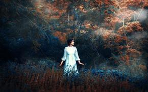 Picture autumn, nature, dress, Ronny Garcia
