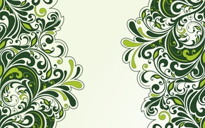 Picture flowers, background, patterns