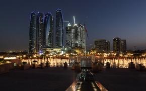 Picture Arab Emirates, the hotel, fountain, Emirates