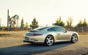 Picture Porsche, Porsche, carrera, 991, rearside